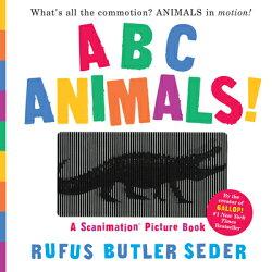 ABC ANIMALS!(SCANIMATION BOOK)