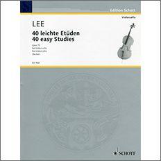 【輸入楽譜】リー, Sebastian: 40のやさしい練習曲 Op.70