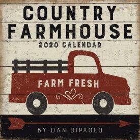 Country Farmhouse 2020 Wall Calendar COUNTRY FARMHOUSE 2020 WALL CA [ Dan DiPaolo ]