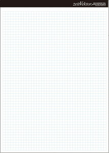 レイメイ藤井 レポート用紙 両面対応 zeitVektor A4 ZVP455 レポート用紙 (文具(Stationary))
