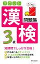 ポケット漢検3級問題集 [ 成美堂出版編集部 ]