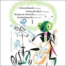 【輸入楽譜】初心者のためのチェロ曲集 第1巻