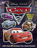Ultimate Sticker Book: Cars 2: More Than 60 Reusable Full-Color Stickers