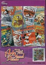 【バーゲン本】クラシックミッキーコレクション Disney 120P×2-アートスタンドパズル