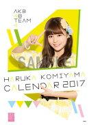 (卓上)AKB48 込山榛香 カレンダー 2017【楽天ブックス限定特典付】