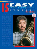 15 Easy Jazz, Blues & Funk Etudes: E-Flat Instrument, Book & CD