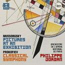 【輸入盤】ムソルグスキー:展覧会の絵、プロコフィエフ:古典交響曲 フィリップ・ジョルダン&パリ・オペラ座管弦…