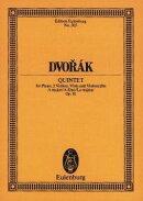 【輸入楽譜】ドヴォルザーク, Antonin: ピアノ五重奏曲 第2番 イ長調 Op.81
