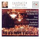 【輸入盤】アルプス交響曲、祝典前奏曲 ジンマン / チューリヒ・トーンハレ管弦楽団