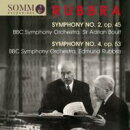 【輸入盤】Sym, 2, 4, : Boult / Rubbra / Bbc So