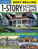 Best-Selling 1-Story Home Plans, Updated 4th Edition: Over 360 Dream-Home Plans in Full Color
