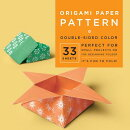 """ORIGAMI PAPER PATTERN 6 3/4"""" 33 SHEETS"""