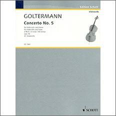 【輸入楽譜】ゴルターマン, Georg: チェロ協奏曲 第5番 ニ短調 Op.76