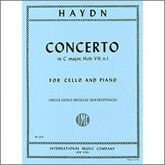 【輸入楽譜】ハイドン, Franz Joseph: チェロ協奏曲 第1番 ハ長調 Hob.VIIb/1/ロストロポーヴィッチ編