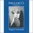 【輸入楽譜】レオンカヴァッロ, Ruggero: オペラ「道化師」全曲: 大型スコア