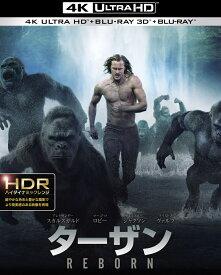 ターザン:REBORN <4K ULTRA HD&3D&2Dブルーレイセット>(3枚組/デジタルコピー付)(初回仕様)【4K ULTRA HD】【3D Blu-ray】 [ アレクサンダー・スカルスガルド ]