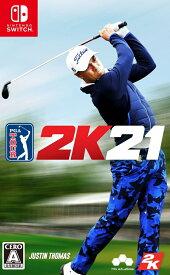 ゴルフ PGAツアー 2K21 Nintendo Switch版