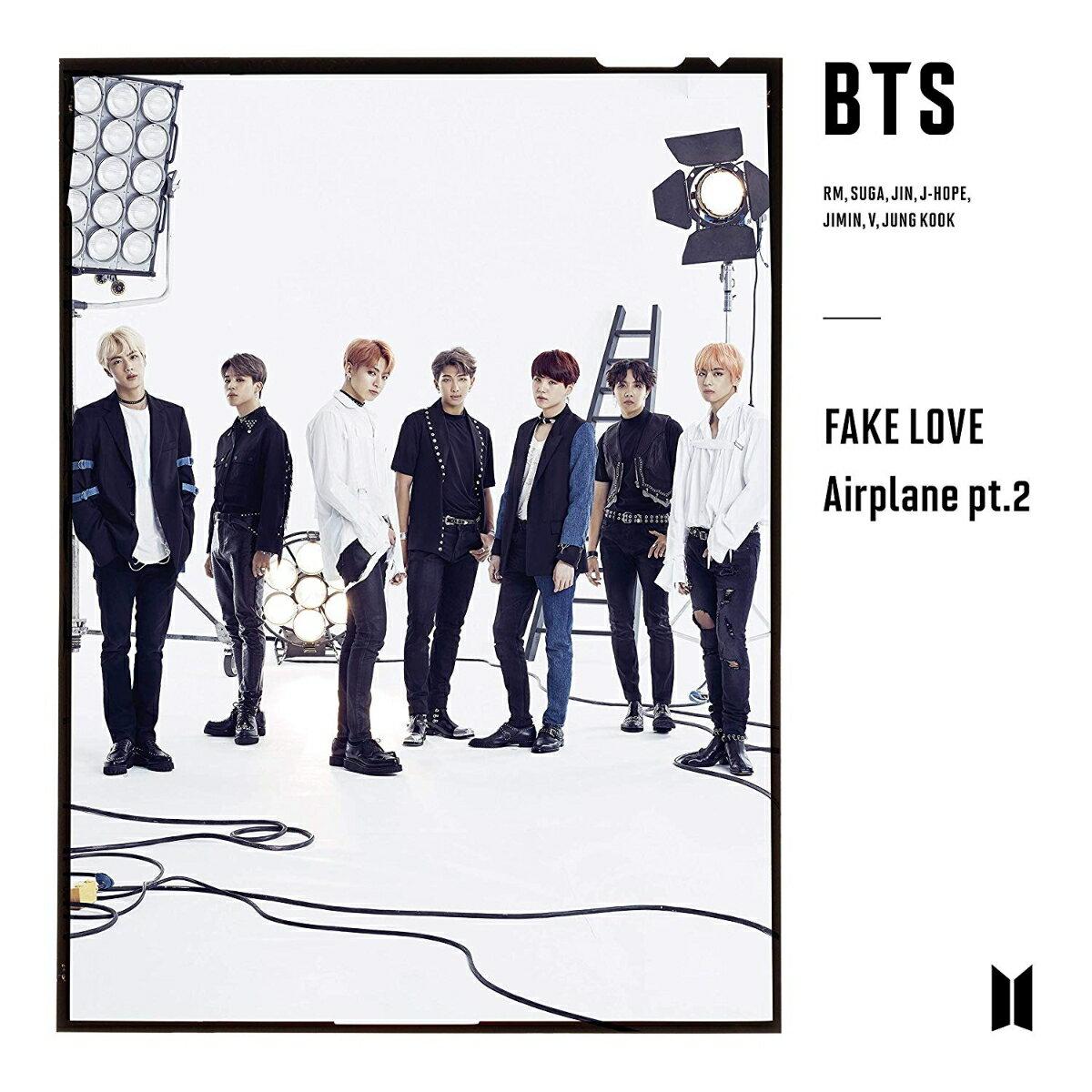 FAKE LOVE / Airplane pt.2 (初回限定盤B CD+DVD) [ BTS(防弾少年団) ]