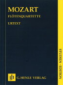 【輸入楽譜】モーツァルト, Wolfgang Amadeus: フルート四重奏曲全集 KV 285, 285a, 285b, 298: 原典版中型スコア