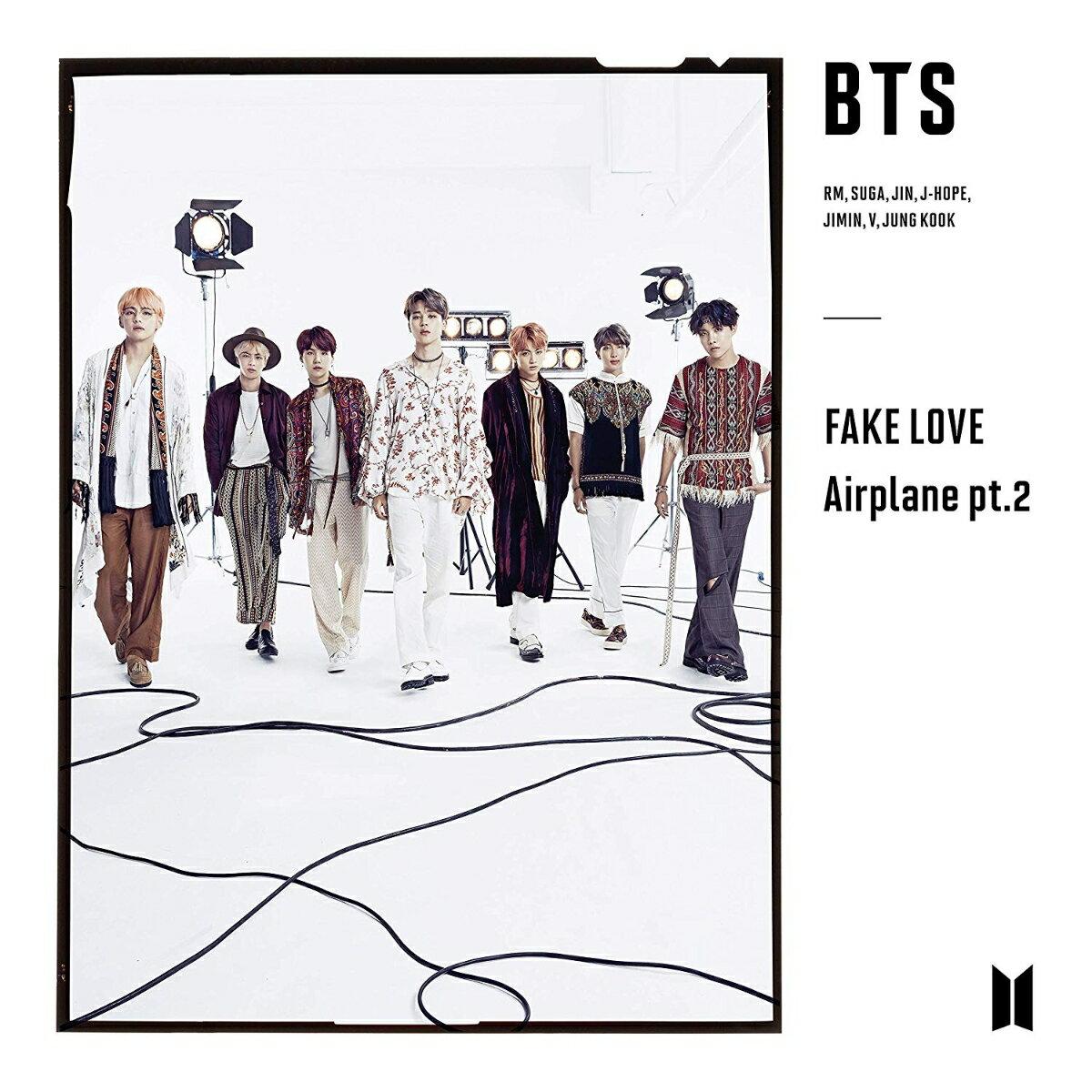FAKE LOVE / Airplane pt.2 (初回限定盤C CD+フォトブックレット) [ BTS(防弾少年団) ]