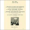 【輸入楽譜】モイーズ, Marcel: 24の旋律的小練習曲