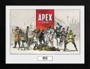 Apex Legends フレーム入りアートポスター レジェンズ