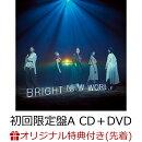 【楽天ブックス限定先着特典】BRIGHT NEW WORLD (初回限定盤A CD+DVD) (オリジナルチケットフォルダ付き)