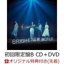【楽天ブックス限定先着特典】BRIGHT NEW WORLD (初回限定盤B CD+DVD) (オリジナルチケットフォルダ付き) [ Little G…