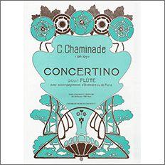 【輸入楽譜】シャミナード, Cecile: 小協奏曲 Op.107