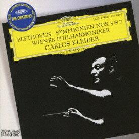 ベートーヴェン:交響曲第5番≪運命≫ 交響曲第7番 [ カルロス・クライバー ]