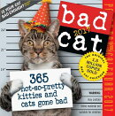 Bad Cat Page-A-Day Calendar 2017