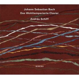 【輸入盤】平均律クラヴィーア曲集全曲 アンドラーシュ・シフ(2011)(4CD) [ バッハ(1685-1750) ]