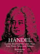 【輸入楽譜】ヘンデル, Georg Friedrich: ハープシコード(チェンバロ)のための小品と舞曲