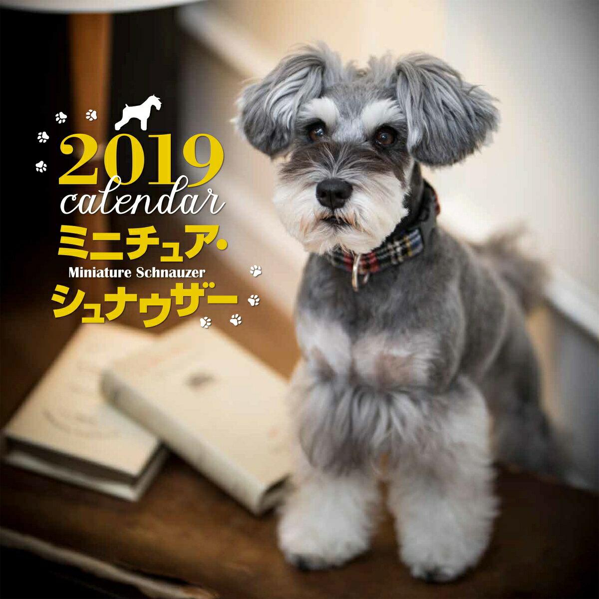 2019年大判カレンダー ミニチュア・シュナウザー (カレンダー) [ 中村 陽子 ]