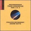 【輸入盤】Piano Concerto.2: Entremont, Bernstein / Nyp, Piano Concerto.3: Watts, Ozawa /