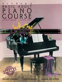 Alfred's Basic Adult Piano Course Lesson Book, Bk 1: Book & CD ALFREDS BASIC ADULT PIANO COUR (Alfred's Basic Adult Piano Course) [ Willard A. Palmer ]