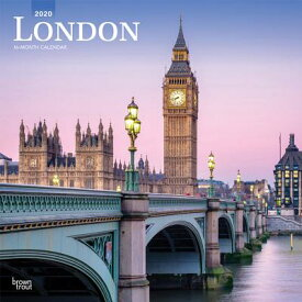 London 2020 Square CAL-LONDON 2020 SQUARE [ Inc Browntrout Publishers ]