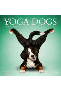 2018YogaDogsWallCalendarCAL2018-YOGADOGSWALLCAL[IncBrowntroutPublishers]