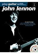 【輸入楽譜】レノン, John: プレイ ギター with ジョン レノン(CD付)