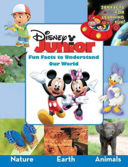 DISNEY JUNIOR:FUN FACTS OUR WORLD(H)【バーゲンブック】