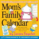 Mom's Family Wall Calendar 2017