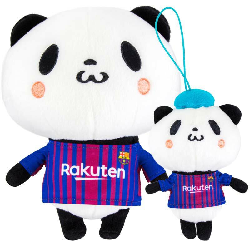 【ポイント交換限定】お買いものパンダFCバルセロナコラボお買いものパンダ&小パンダセット