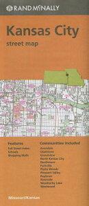 Folded Map Kansas City Streets Mo