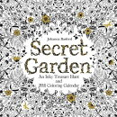 Secret Garden: An Inky Treasure Hunt and Coloring Calendar
