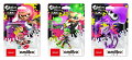 【予約】amiibo スプラトゥーンシリーズ 全3種セット (ガール【ネオンピンク】/ボーイ【ネオングリーン】/イカ【ネオンパープル】)