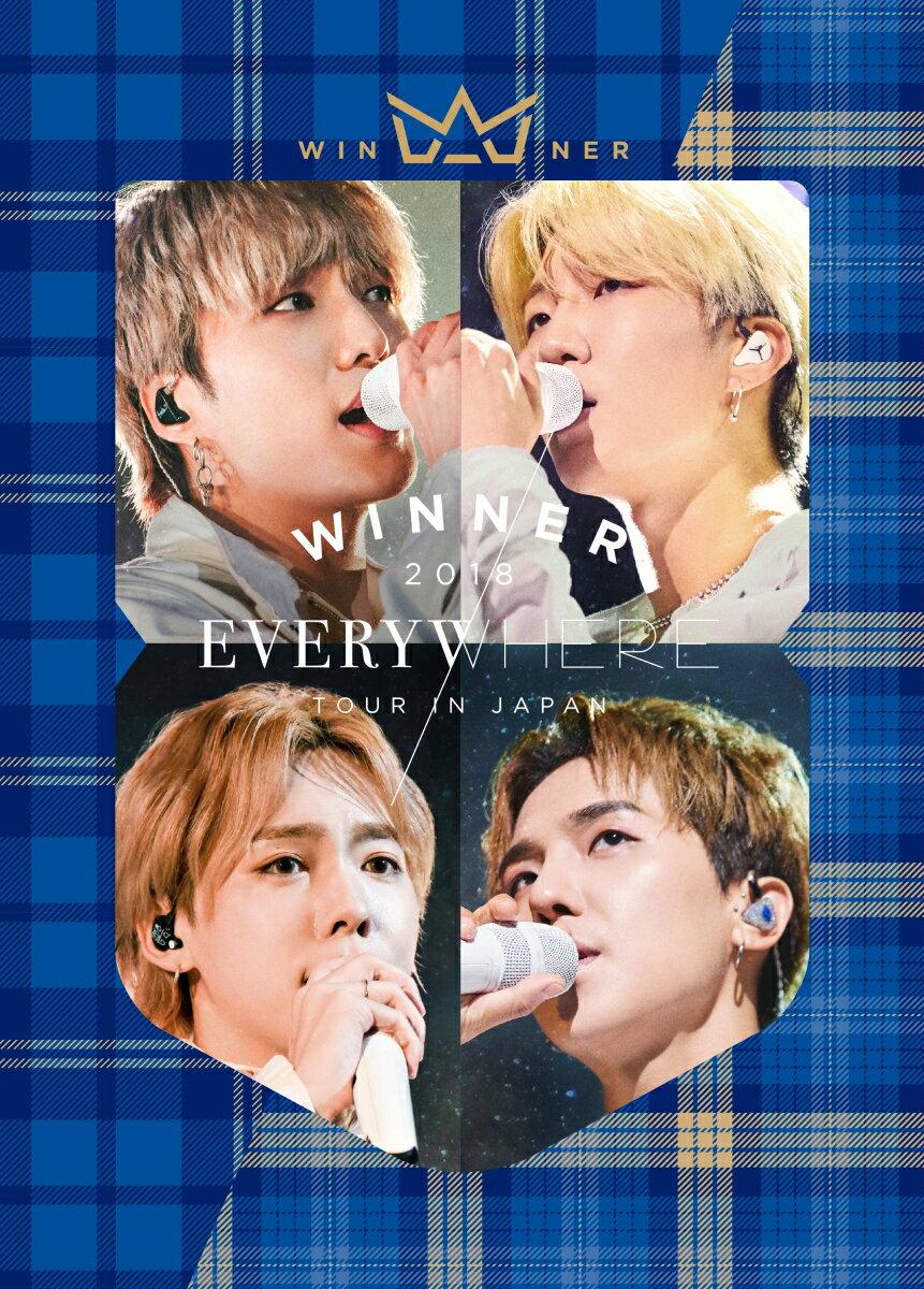 WINNER 2018 EVERYWHERE TOUR IN JAPAN(3Blu-ray+2CD+スマプラムービー&ミュージック)(初回生産限定盤)【Blu-ray】 [ WINNER ]