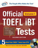 Official TOEFL Ibt(r) Tests Volume 1, 2nd Edition