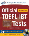 OFFICIAL TOEFL IBT TESTS VOLUME 1 2/E(P) [ EDUCATIONAL TESTING SERVICE ]