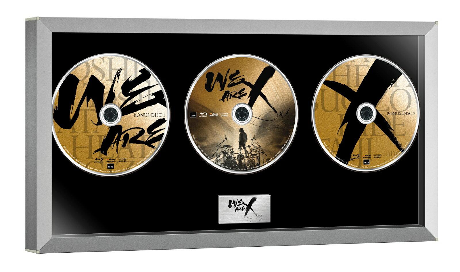 WE ARE X Blu-ray コレクターズ・エディション(3枚組)【Blu-ray】 [ X JAPAN ]