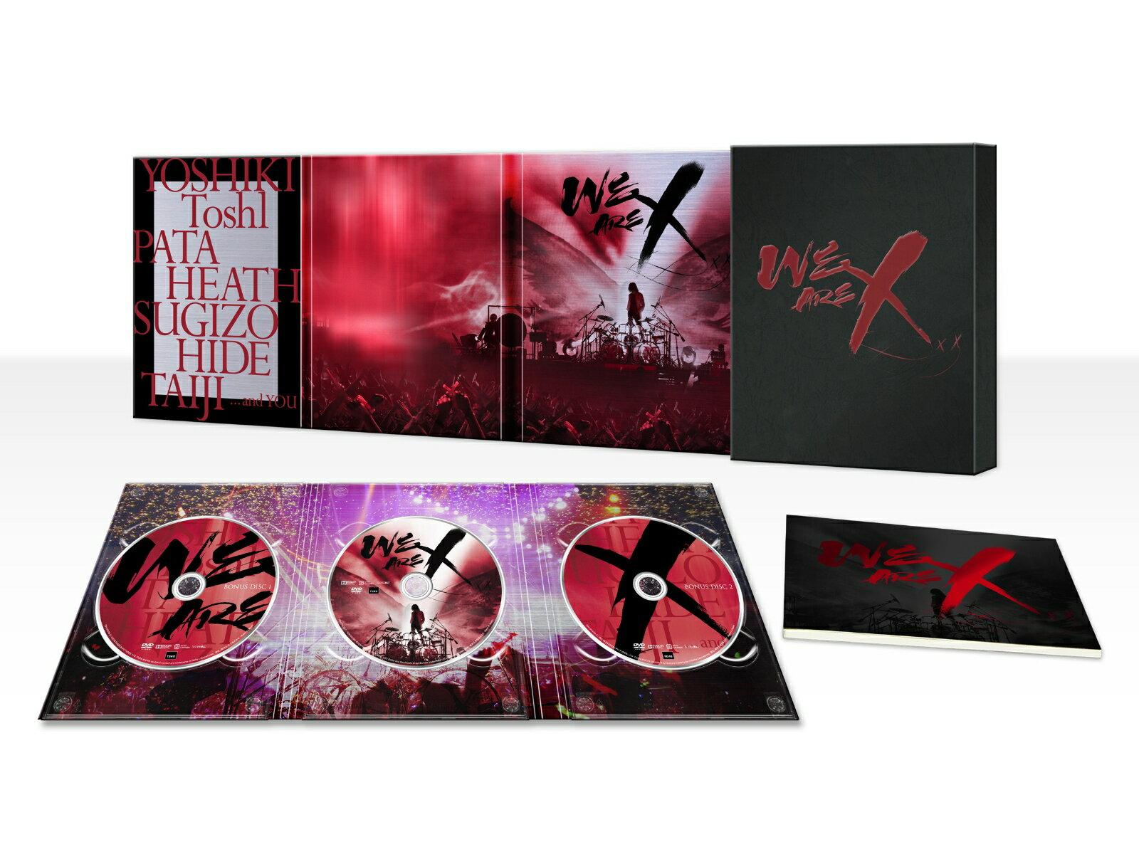WE ARE X DVD スペシャル・エディション(3枚組) [ X JAPAN ]